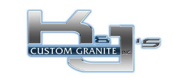 kj custom granite logo